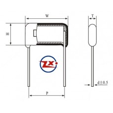 0001-4 - CAPACITOR POLIESTER