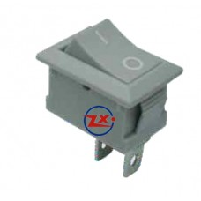 0022-1 – Chave Gangorra KCD1-101 2T 2A/8A Cinza com marcação