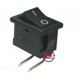 0022-9 – Chave Gangorra KCD1-101B 2T 6A 250V 90º PCI Preto com marcação