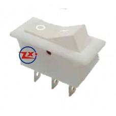 0036-8 – Chave Gangorra KCD2-102  3T 15A 250V Bege com marcação