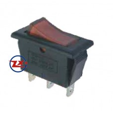 0037 – Chave Gangorra KCD2-102N com neon 3T 15A 250V com ou sem marcação cores: az/vd/vm