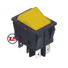 0046-1 – Chave Gangorra KCD4-203/RN 6T 15A 250V sem marcação amarela