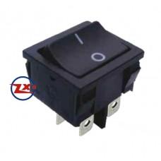 0047-1 – Chave Gangorra KCD5-201 4T 6A/12A 250V com marcação preta