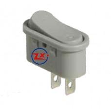 0052 – Chave Gangorra KCD10-107-101 2T 3A/16A 250V sem marcação cinza