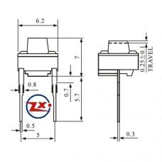 0072-4 - KFC-A06-6X6X7 2T 180°