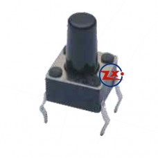 0074-1 - Chave Tactil - KFC-A06-6X6X11 4T 180°