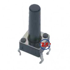 0076 - Chave Tactil - KFC-A06-6X6X15 4T 180°