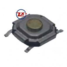 0091 - Chave Tactil - KFC-A06-5,2X1,6 SMD Amarelo Branco