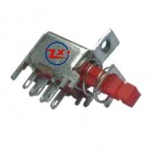 0147-1 - Chave Tecla - A03-3 Com e sem Trava Vermelho