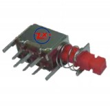 0147-4 - Chave Tecla - PS-22F 04 Com e Sem Trava Azul