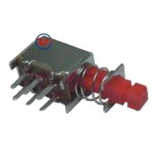 0147 - Chave Tecla - PS-22F05(A03-01) Com e Sem Trava Vermelho