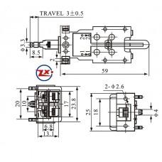 0159-7 - Chave Tecla - KDC-A15