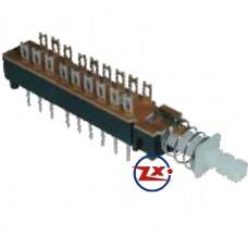 0162-2 - Chave Tecla - KZJ 2X6 com Trava / Sem Trava