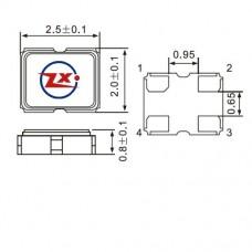 SMD2520 - CRISTAL SMD