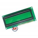 0009-1-2 16 X 2 Com Backlight Verde