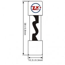 0189-1 FUSÍVEL VIDRO - ZH229N 10x38