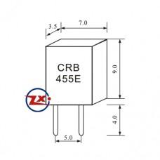 0014 - Ressonador - CRB455E-2P CRB1.00MHZ 2T