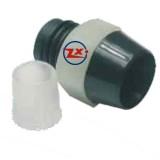 0003-2-2 - SUPORTE PARA LED 5mm PRETO